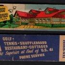 KEWEENAW PARK RESORT - Copper Harbor, Michigan - 1950s(?) Matchbook Cover