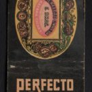 PERFECTO GARCIA Havana Cigars - W. F. Monroe Cigar Co. - Vintage Matchbook Cover
