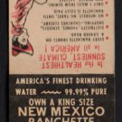 DEMING RANCHETTES - Deming, New Mexico - Vintage Matchbook Cover