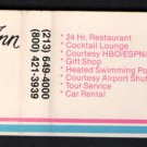 AIRPORT CENTURY INN - Los Angeles, California - 1980s Vintage Matchbook Cover