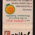 CAPITOL PARK INN - Nashville, Tennessee - Vintage Matchbook Cover
