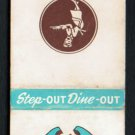 HOLLY'S Restaurants - Grand Rapids, Michigan / Indiana - Vintage Matchbook Cover
