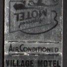 VILLAGE MOTEL - Strongsville, Ohio - 1950s(?) Vintage Matchbook Cover