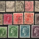 LUXEMBOURG - 1880-1949 - 14 Different Postage Stamps - Used