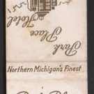 PARK PLACE HOTEL - Traverse City, Michigan - Vintage Matchbook Cover