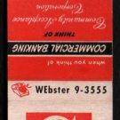 COMMUNITY ACCEPTANCE CORPORATION - Chicago, Illinois - Vintage Matchbook Cover