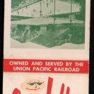 SUN VALLEY SPORTS RESORT - Sun Valley, Idaho - Vintage Matchbook Cover