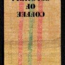"""COFFEE OF COLOMBIA - """"Juan Valdez"""" - Vintage Matchbook Cover"""