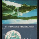 HOLIDAY INN FRENCHMAN'S REEF - St. Thomas, U.S.V.I. - Vntage Matchbook Cover