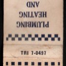 HERBERT T. CONNOR - Rockland, Massachusetts - 1950s(?) Vintage Matchbook Cover