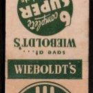 WIEBOLDT'S SUPER Food Markets - Chicago, Illinois - Vintage Matchbook Cover
