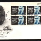ART CRAFT - 1965 Robert Fulton Bicentennial (#1270) FDC - PB UA