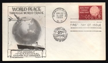 ARISTOCRATS / DAN LOWRY - 1959 World Peace Through Trade (#1129) - UA
