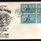 FLEETWOOD - 1953 National Guard FDC - B4 UA