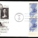 ART CRAFT - 1964 New Jersery Tercentenary (#1247) FDC - PB UA