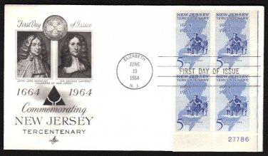 ART CRAFT - 1964 New Jersery Tercentenary (#1247) FDC - PB UA