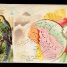 1889 Victorian Trade Card - Arbuckle Brothers Coffee Company - Map of  BOLIVIA (#66)