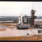 1980s KENNEDY SPACE CENTER, FLORIDA - First Space Shuttle on Launch Pad - Unused Postcard