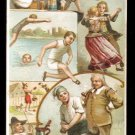 1893 Victorian Trade Card - Arbuckle Brothers Coffee Company - GERMANY (#7)