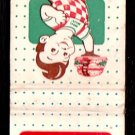 TOPS DRIVE IN Restaurants - Chicago, Illinois (suburban) - 1960s Matchbook Cover