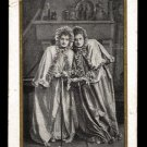 CHOCOLAT BESNIER (Le Mans, France) Victorian Trade Card - LE TALISMAN