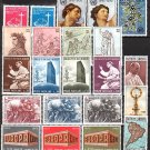 VATICAN - 40 Different MNH / Complete Sets - 1964//71