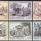 VATICAN - 1975 European Architectural Heritage Year - Fountains (Sc. 573-8) - MNH