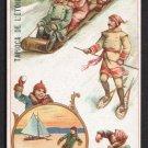 TAPIOCA DE L'ETOILE Victorian Trade Card - Canada - Sports & Pastimes