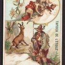 TAPIOCA DE L'ETOILE Victorian Trade Card - Switzerland / Suisse - Sports & Pastimes