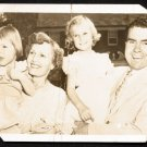 Vintage 1952 RICHARD NIXON and Family Postcard - followup to Checkers speech