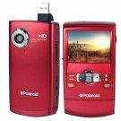 NEW! Polaroid DVF-720 5MP 720p HD Red Digital Camcorder