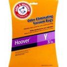 NEW! Hoover 3 EA Vacuum Bags Type Y Arm & Hammer (62609)