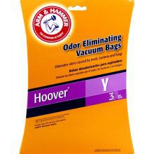 NEW! Hoover 3 EA Vacuum Bags Type Y Arm & Hammer (62609)