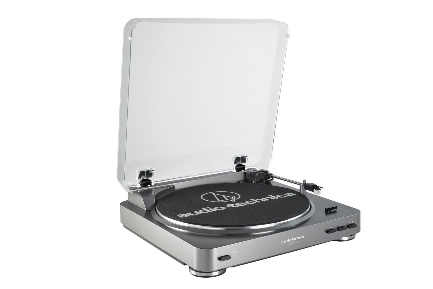 NEW! Audio Technica AT-LP60USB Fully Automatic Belt Driven Turntable with USB Port!