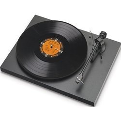 NEW! PRO-JECT - DEBUT III MATTE BLACK TURNTABLE!