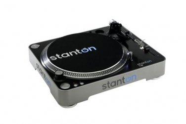 NEW! Stanton T52B Straight Arm Belt-Drive Turntable with 500.v3 Cartridge Pre-Mounted!