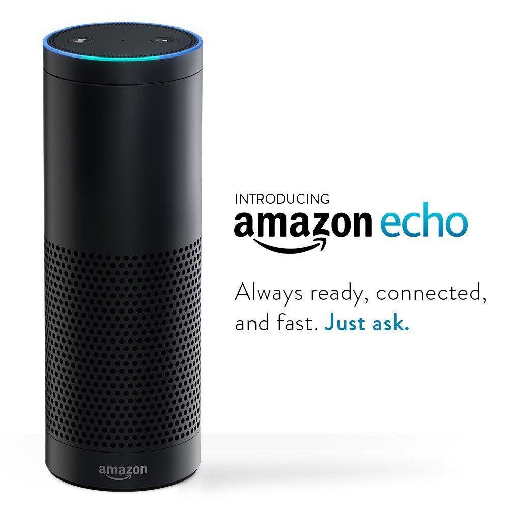 NEW! Amazon Echo, Instant Information & Audio Center