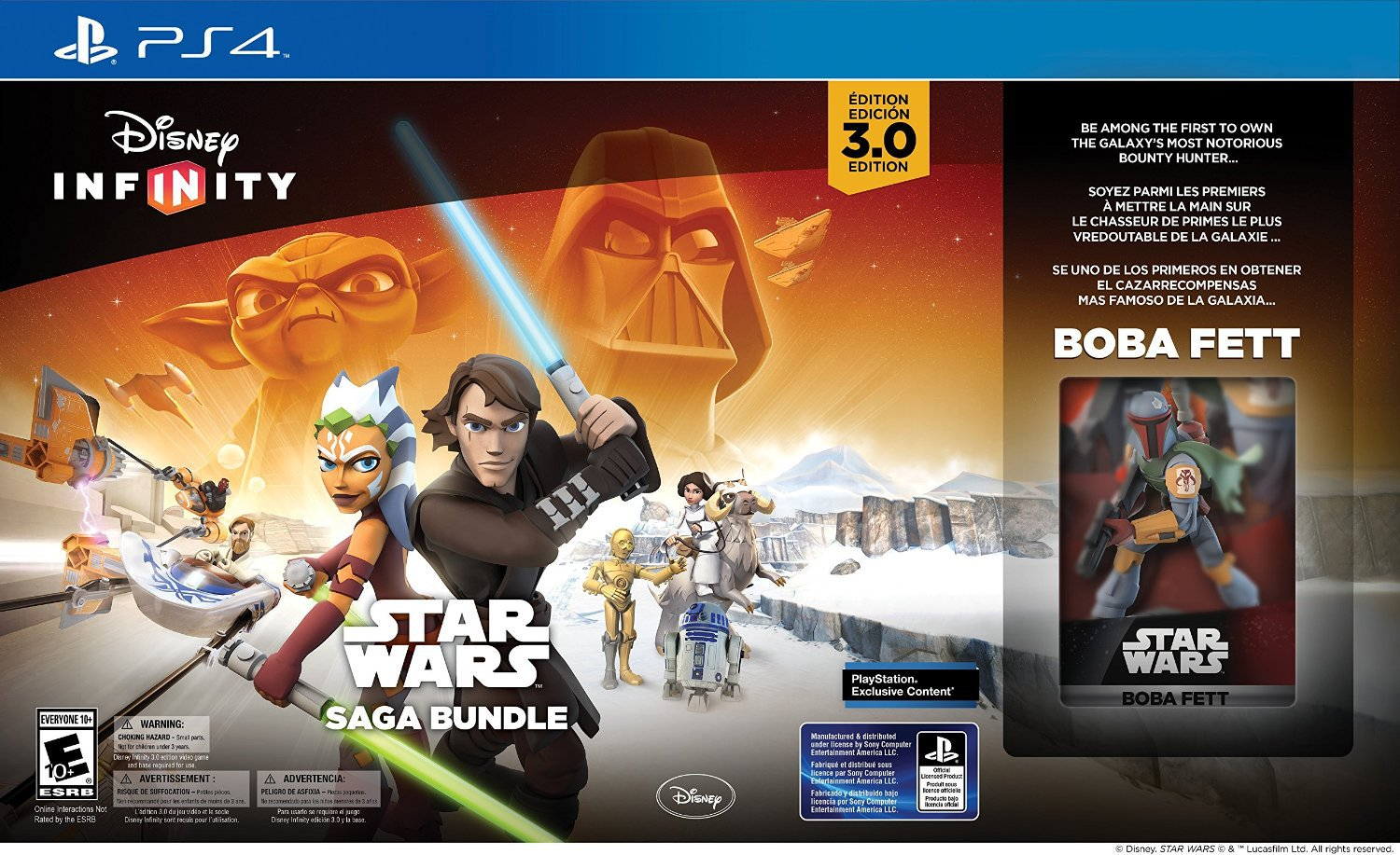 NEW! PlayStation 4 Disney Infinity 3.0 Edition: Star Wars Saga Bundle!