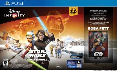 NEW! PlayStation 4 Disney Infinity 3.0 Edition: Star Wars Saga Bundle!
