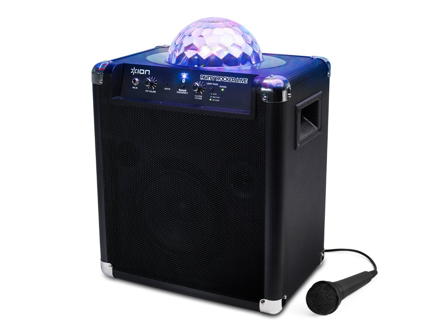 NEW! Ion Audio Party Rocker Live Bluetooth Speaker with Party Lights and App Control
