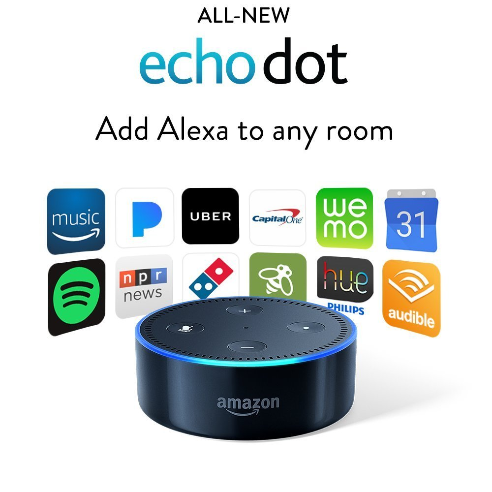 Echo Dot (2nd Generation) - Black New