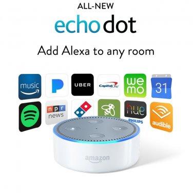 Echo Dot (2nd Generation) - White New