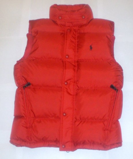 NEW $198 POLO RALPH LAUREN PUFFER WINTER DOWN VEST JACKET LARGE NWT