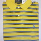 NEW RALPH LAUREN MENS CLASSIC FIT POLO SHIRT MEDIUM NWT YELLOW FREE SHIP