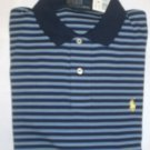 NEW RALPH LAUREN MENS CLASSIC FIT POLO SHIRT XXL 2XL NWT BLUE & YELLOW FREE SHIP