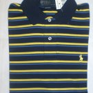 NEW RALPH LAUREN MENS CLASSIC FIT POLO SHIRT LARGE NWT BLUE FREE SHIP
