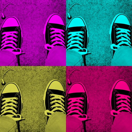 Pop Art Chucks