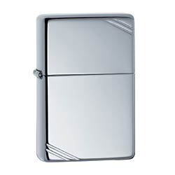 ZIPPO 260 VINTAGE HIGH POLISH CHROME LIGHTER