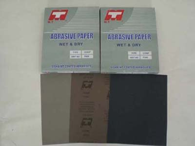 MT anticurl waterproof abrasive paper