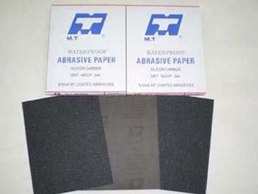 MT latex waterproof abrasive paper